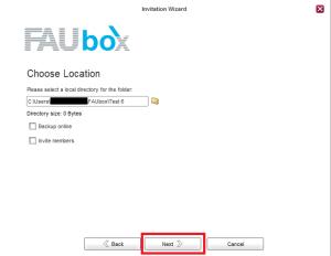 Faubox_Synchronize a shared folders 3